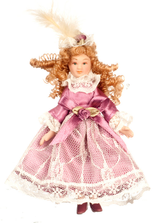 Girl in Purple Lace-Dollshouse Hampshire
