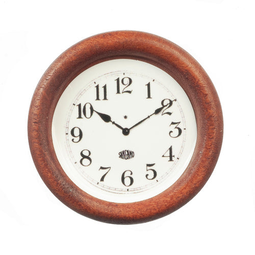 Wooden Clock-Dollshouse Hampshire