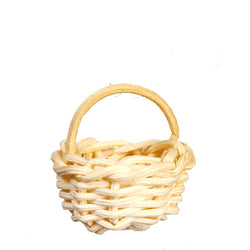 Basket with Handle-Dollshouse Hampshire