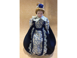 Doll in Blue-Dollshouse Hampshire