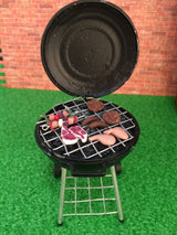 Lit Barbecue. Battery Operated-Dollshouse Hampshire