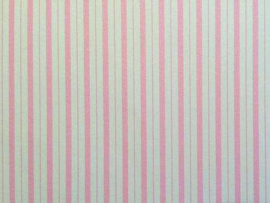 Wallpaper Beckford Stripe, Pink-Dollshouse Hampshire
