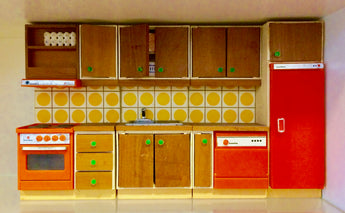 Vintage 16th Scale Kitchen-Dollshouse Hampshire