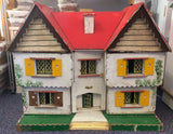 Vintage 16th House, in store only, needs tlc-Dollshouse Hampshire