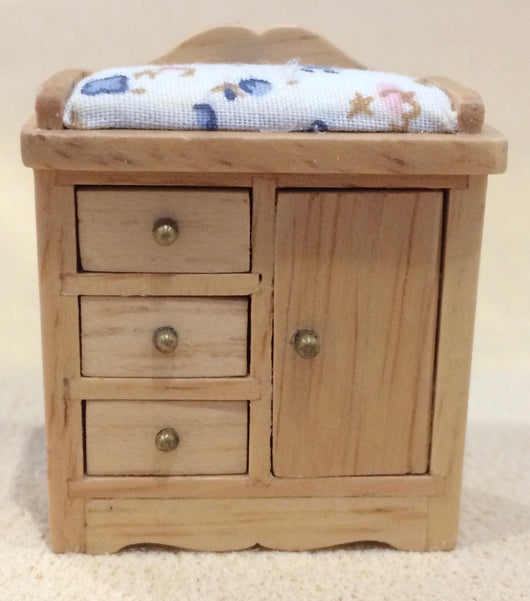 24th Cupboard with Changing Mat-Dollshouse Hampshire