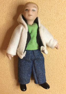 Boy in Jacket-Dollshouse Hampshire