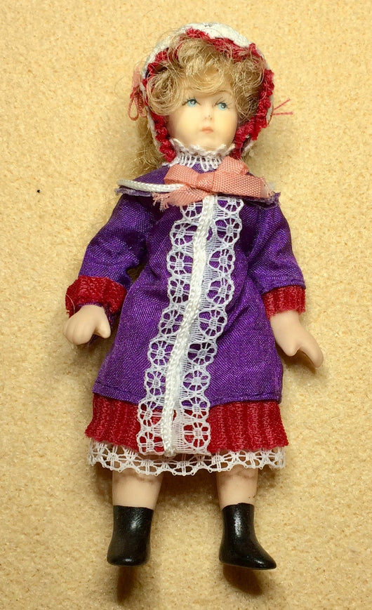 Girl in Purple-Dollshouse Hampshire