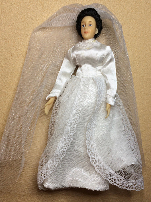 Bride in White-Dollshouse Hampshire