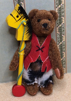 Cowboy Teddy-Dollshouse Hampshire