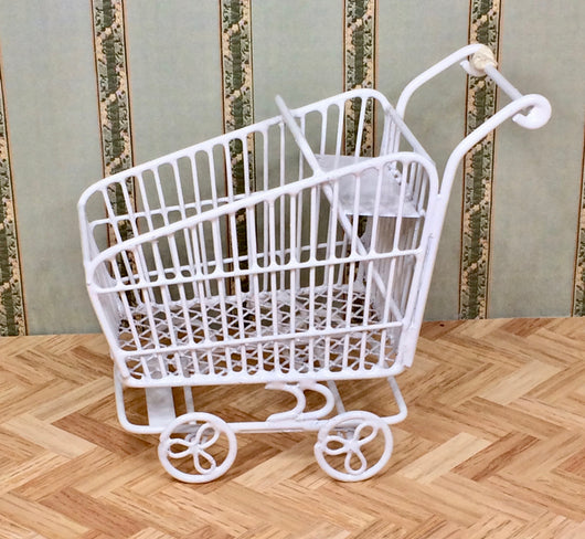 Vintage Shopping Trolley-Dollshouse Hampshire