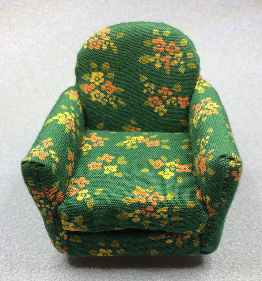 D. S. Vintage Comfy Chair-Dollshouse Hampshire