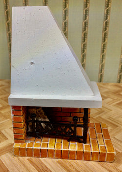 Vintage 16th Fireplace-Dollshouse Hampshire