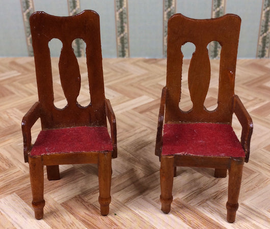 Vintage 16th Pair of Chairs-Dollshouse Hampshire