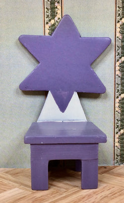Vintage 16th Star Chair-Dollshouse Hampshire