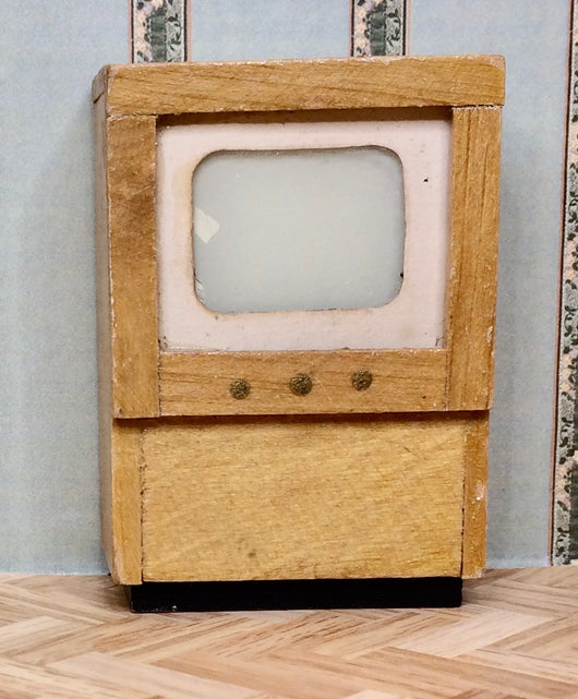 Vintage 16th Television-Dollshouse Hampshire