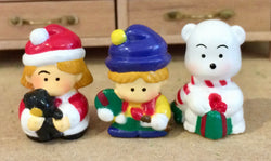 3 Christmas Characters Assorted-Dollshouse Hampshire