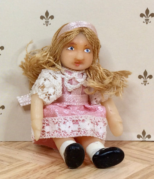 Vintage Small Girl-Dollshouse Hampshire