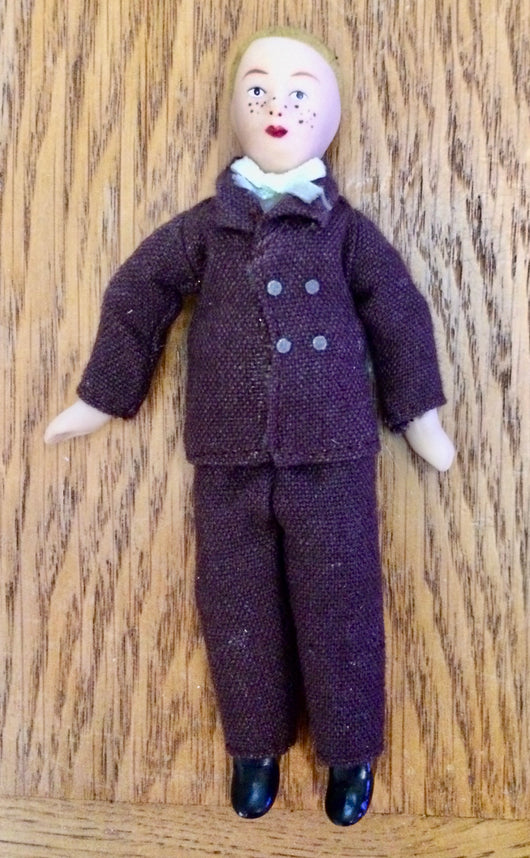 Vintage Boy with freckles-Dollshouse Hampshire