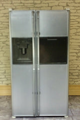 Large Silver Fridge Freezer-Dollshouse Hampshire