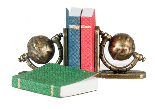 Books with Bookends-Dollshouse Hampshire
