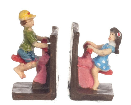 See-saw Bookends-Dollshouse Hampshire