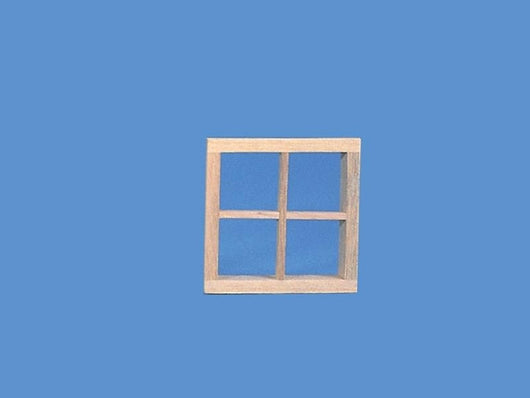Wooden Small Dormer Window Insert-Dollshouse Hampshire