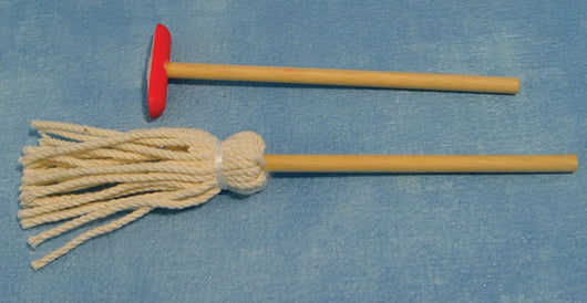 Broom & Mop-Dollshouse Hampshire