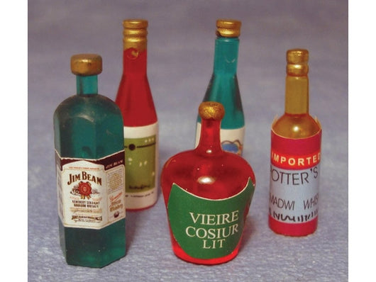 Assorted Bottles-Dollshouse Hampshire