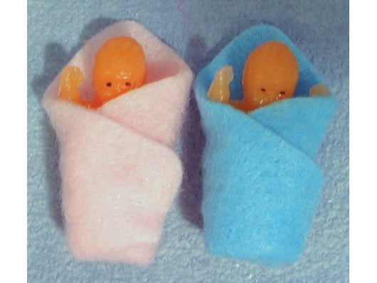 2 Wrapped Babies-Dollshouse Hampshire