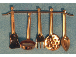 Copper Utensils-Dollshouse Hampshire