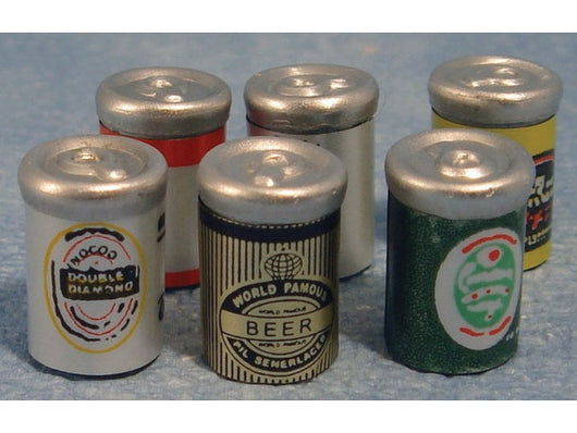 Beer Cans-Dollshouse Hampshire