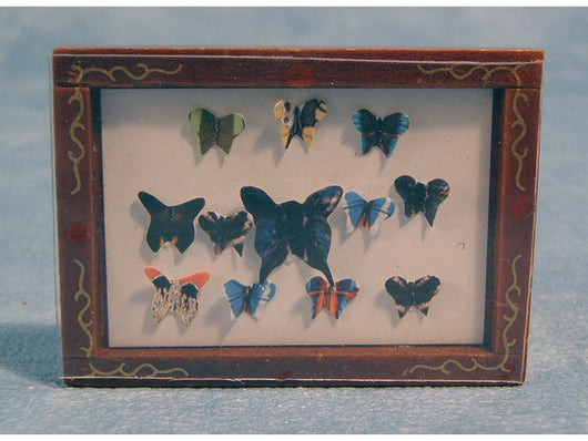 Butterfly Display Picture-Dollshouse Hampshire