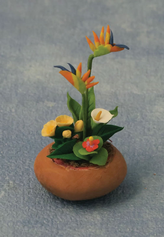 Bird of Paradise Planter-Dollshouse Hampshire