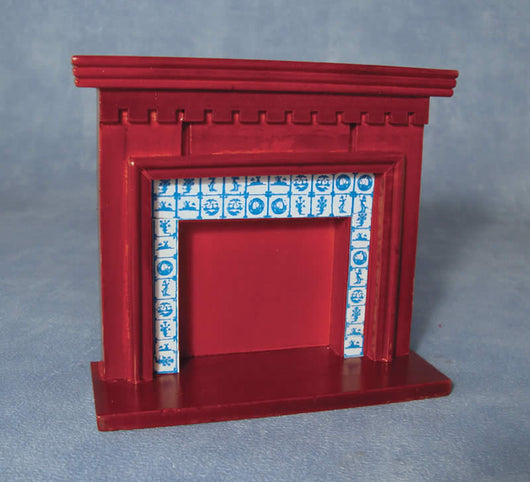 Fireplace, Mahogany-Dollshouse Hampshire