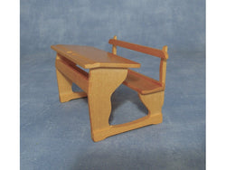 Pine School Desk-Dollshouse Hampshire