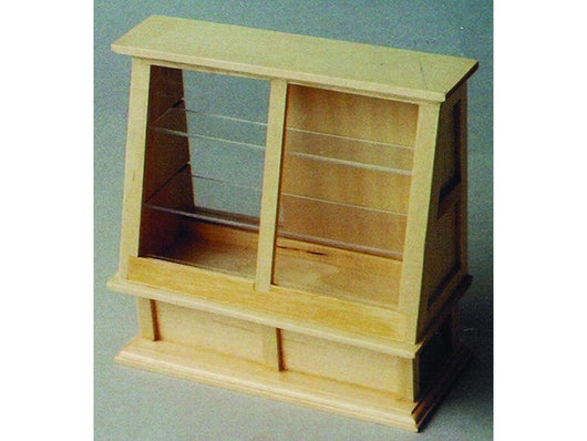 Pine Glass Cabinet-Dollshouse Hampshire