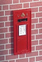 Wall Post Box-Dollshouse Hampshire
