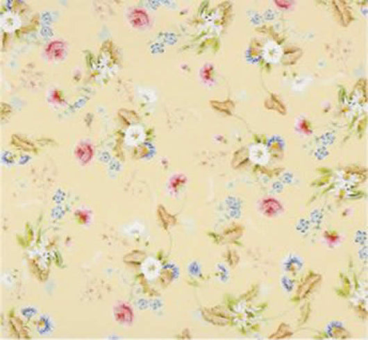 Wallpaper Rococo Yellow-Dollshouse Hampshire