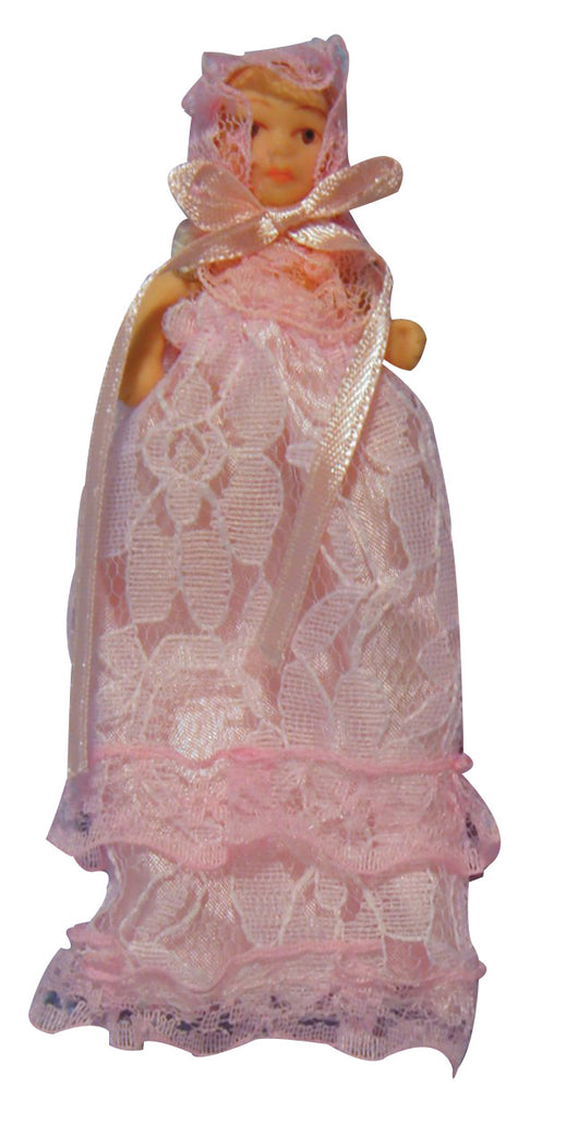 Girl Baby in Long Dress-Dollshouse Hampshire