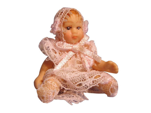 Tiny Baby Girl-Dollshouse Hampshire