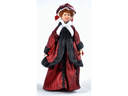 Doll in Outside Clothing-Dollshouse Hampshire