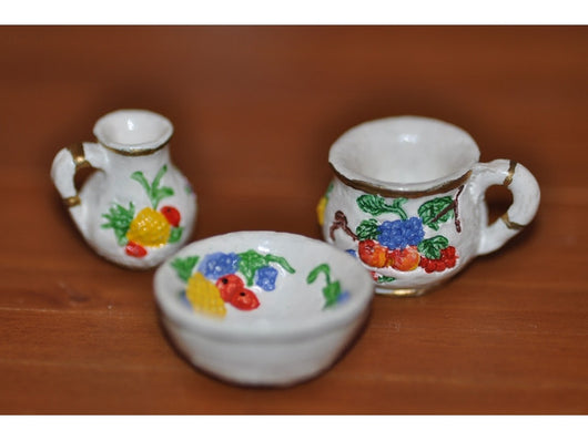 Jug & Bowl with Potty-Dollshouse Hampshire