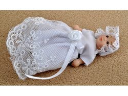 Baby in Bonnet-Dollshouse Hampshire