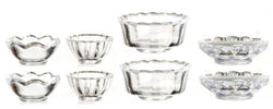 Clear Plastic Bowls-Dollshouse Hampshire