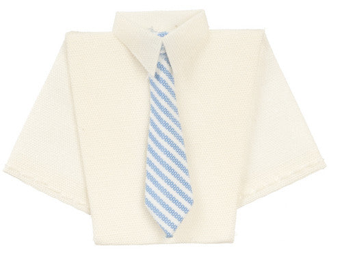 Folded Shirt & Tie-Dollshouse Hampshire