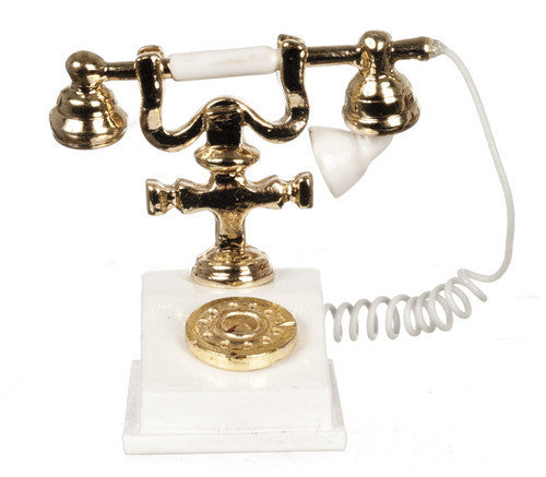 White Telephone-Dollshouse Hampshire