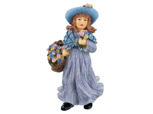 Resin Flower Girl-Dollshouse Hampshire