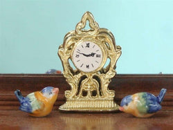 Slim Clock-Dollshouse Hampshire