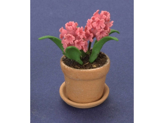 Pink Hyacinth, each-Dollshouse Hampshire
