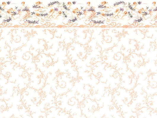 Wallpaper Symphony Pink-Dollshouse Hampshire